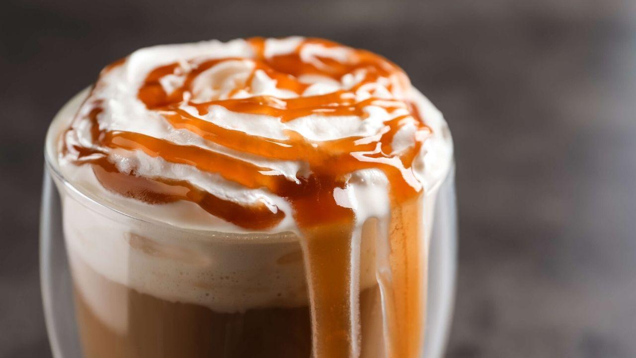 Caramel Espresso Frappé
