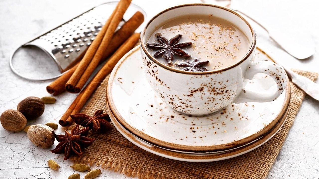 Spiced Chai Milk