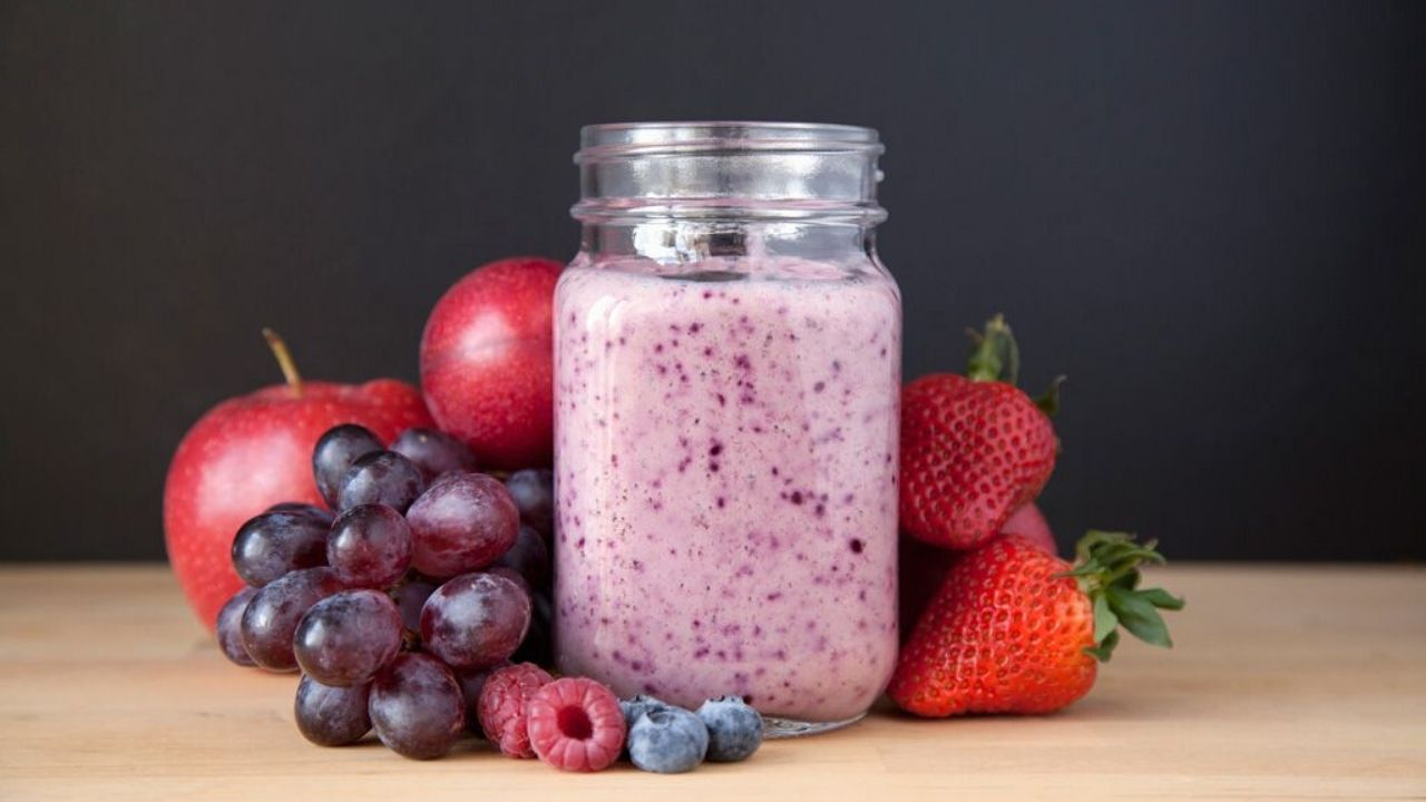 Strawberry Grape Smoothie