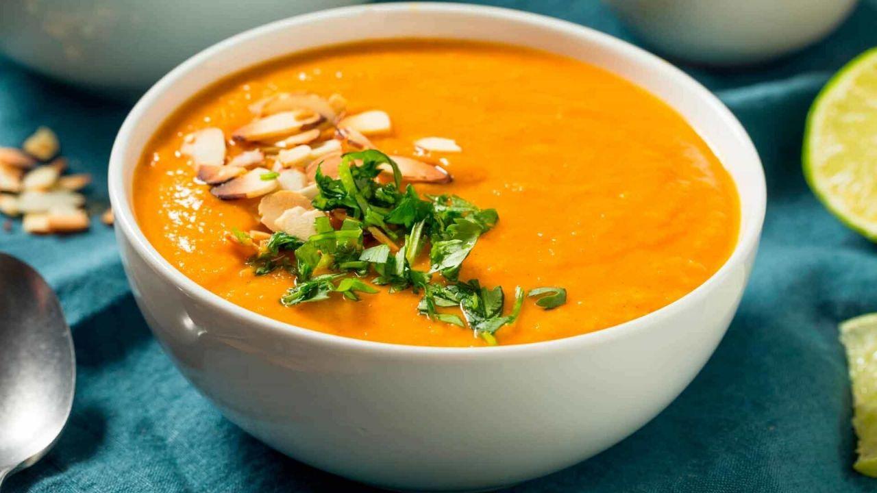 Tomatillo and Sweet Potato Soup