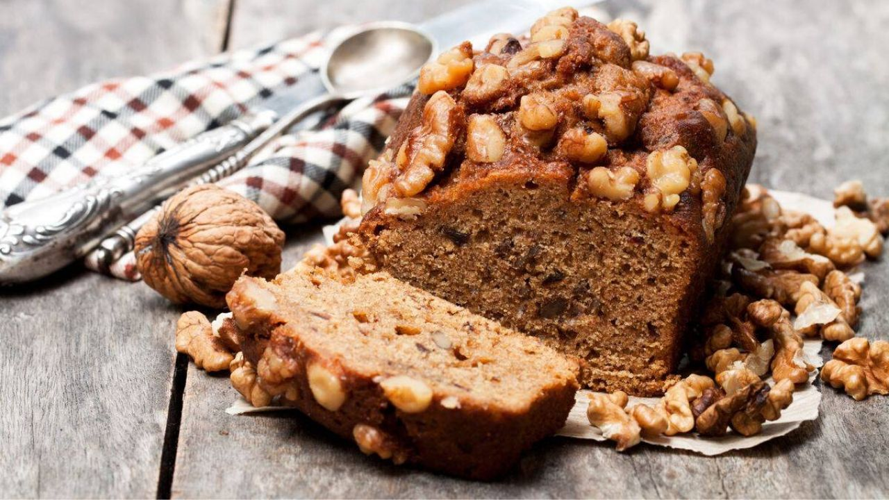 Walnut Date Bread