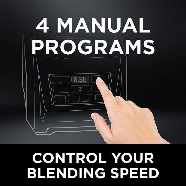 Ninja Professional Blender BL660 - Controls