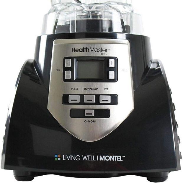 Montel Williams HealthMaster Elite Blender - Controls