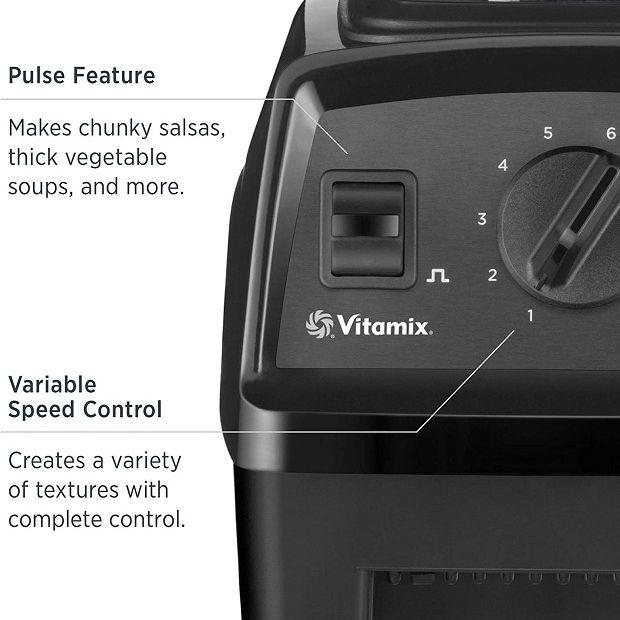 Vitamix E310 and E320 Controls