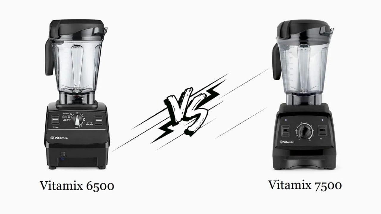 Vitamix 6500 vs 7500 - What's the Difference?